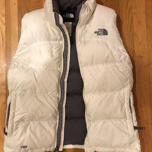 Women's North Face vest Medium
